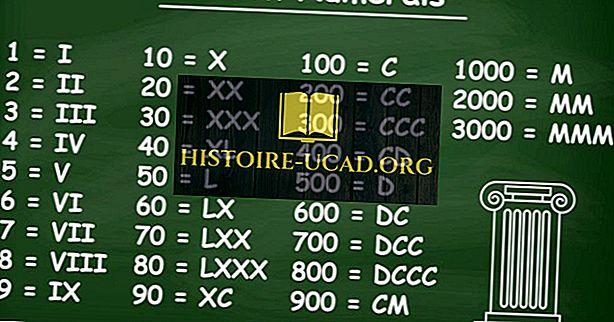 vidste du - Hvad er romerske tal?