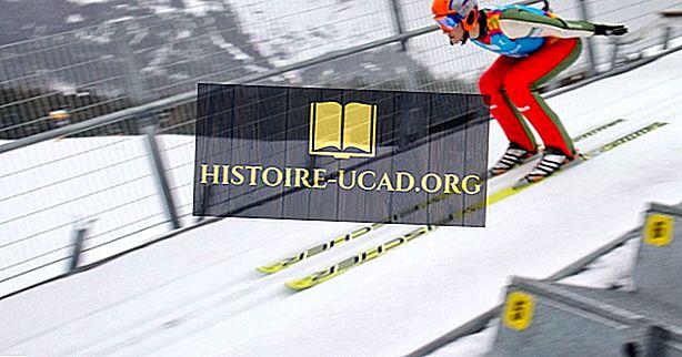 Wusstest du - Olympische Winterspiele: Skispringen