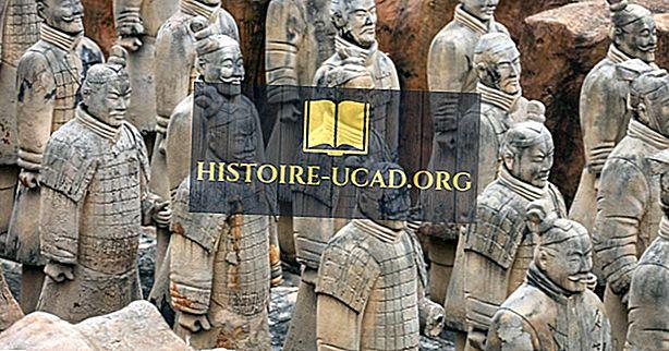 Kdy byla objevena Terakotová armáda?