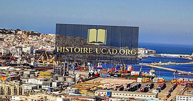 Quais são as maiores indústrias na Argélia?