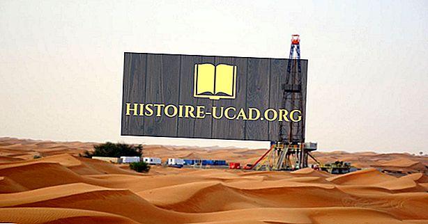 Jaké jsou hlavní přírodní zdroje Spojených arabských emirátů?