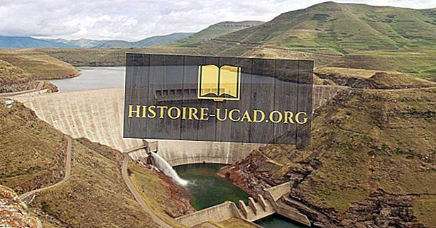 Какви са основните природни ресурси на Лесото?