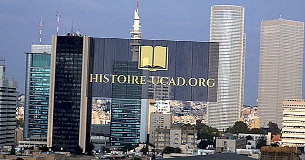 De største industriene i Israel
