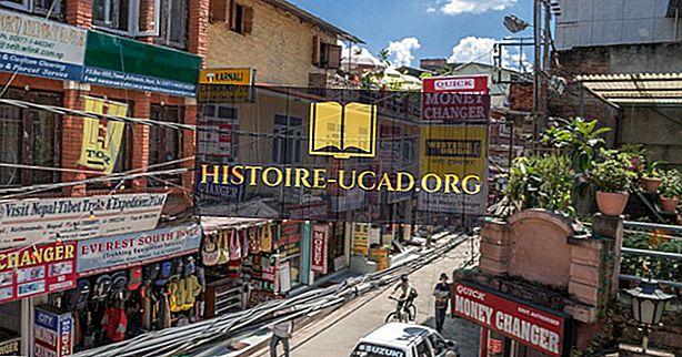 Was sind die größten Industrien in Nepal?