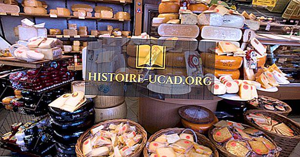Top 20 juustu eksportiv riik