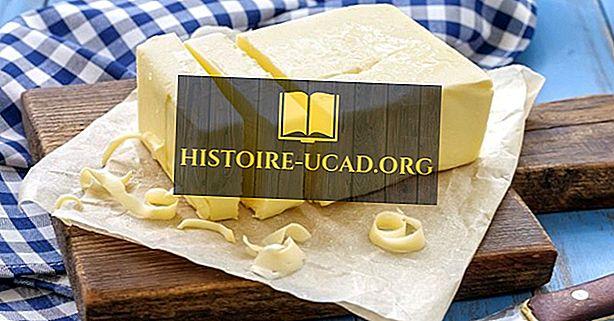 De belangrijkste exporterende landen van de boter