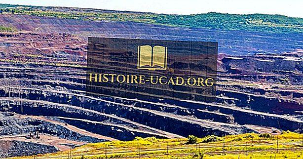 De største jernmalmproducerende lande i verden