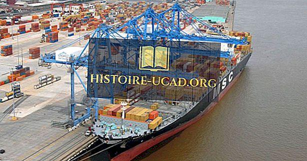 Самые загруженные порты в США по объему груза