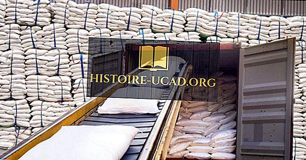 Principali paesi esportatori e importatori di zucchero nel mondo
