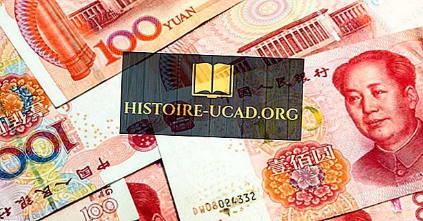 Kakšna je valuta Kitajske?