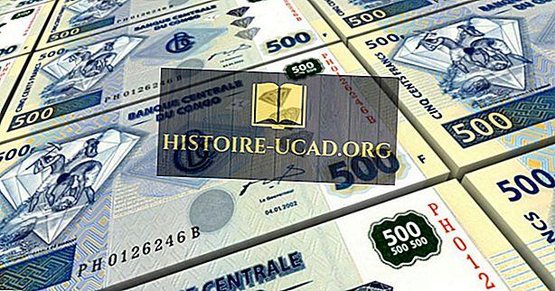 Qual é a moeda da República Democrática do Congo?