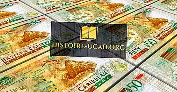 Jaká je měna Svatý Kryštof a Nevis?