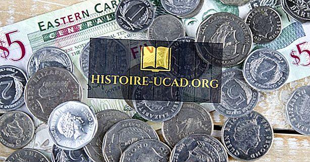 Kakšna je valuta Svete Lucije?