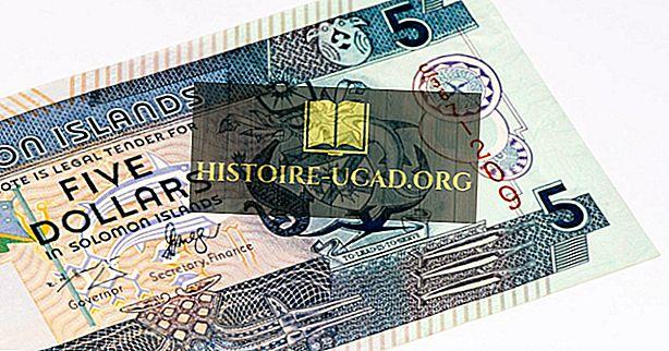 Mikä on Salomonsaarten valuutta?