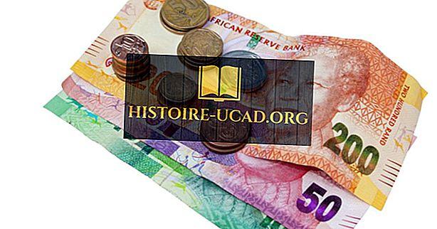Jaká je měna Jižní Afriky?