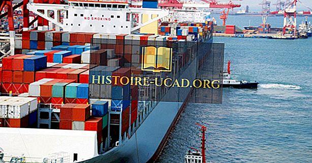 Las flotas de contenedores más grandes del mundo