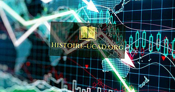 Havárie akciového trhu v roce 2008.