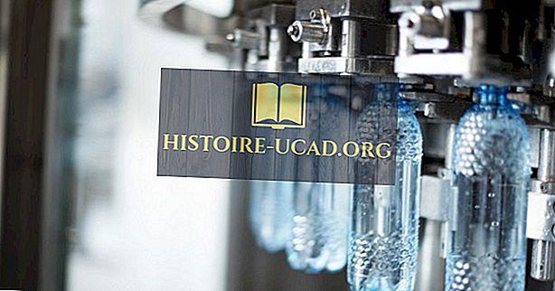 економија - Врхунска потрошња воде у флашираној води