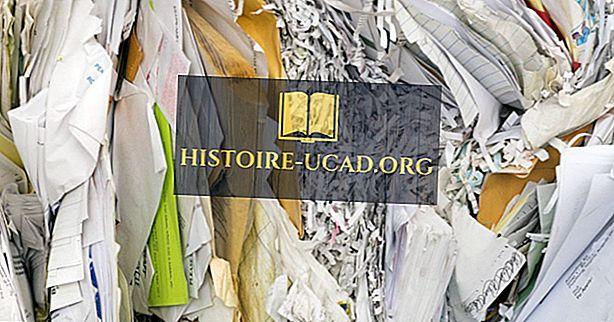Hvor mange gange kan papir genbruges?