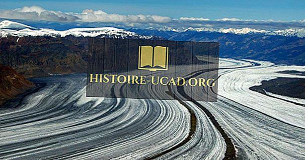 Hvilken er den største gletscher i Nordamerika?