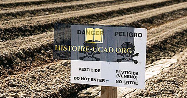ما هي آثار التسمم بالمبيدات؟