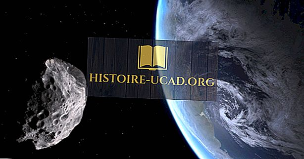 Voiko asteroidi olla suurempi kuin planeetta?