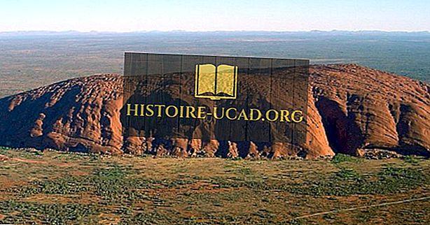 Ką žinote apie Ayers Rock (Uluru)?