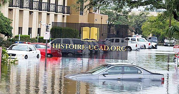 Различните видове хидрологични бедствия