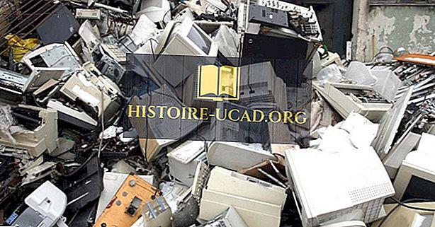 Kas ir e-atkritumi (elektroniskie atkritumi)?
