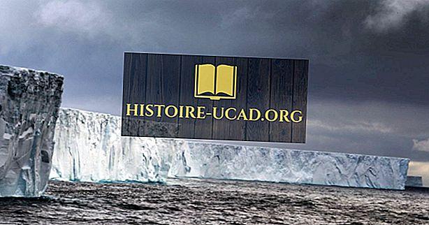 Kateri je bil največji svetovni zapis ledene gore?