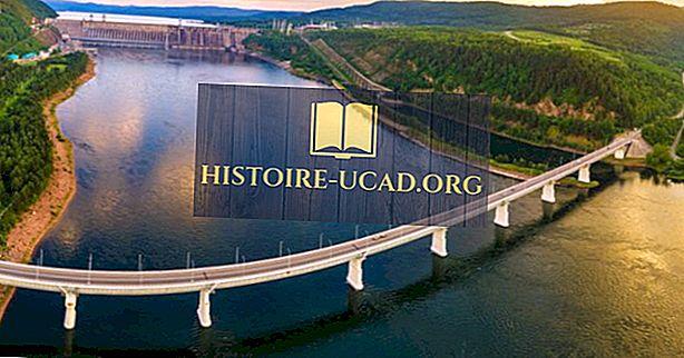 Quelle est l'origine de la rivière Yenisei?