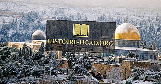 Sneeuwt het in Jeruzalem?  Sneeuwt het in Israël?