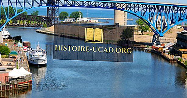 Care sunt intrările și ieșirile primare ale lacului Erie?