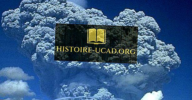 Самые катастрофические извержения вулканов