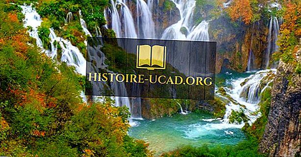 Plitvice Lakes National Park, Kroatien