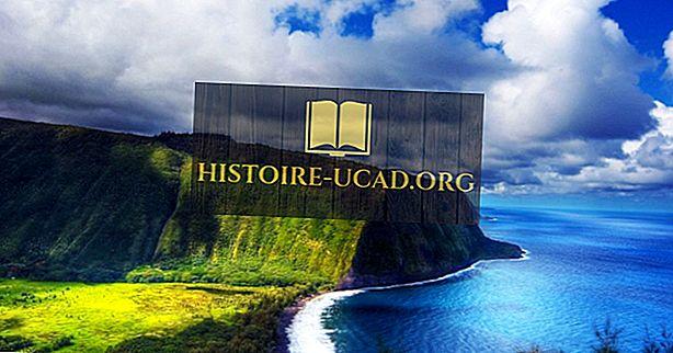 As maiores ilhas havaianas