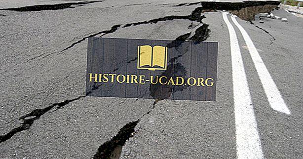 заобикаляща среда - Какво причинява земетресения?