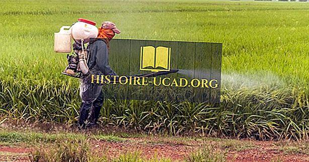 Top pesticid ved hjælp af lande