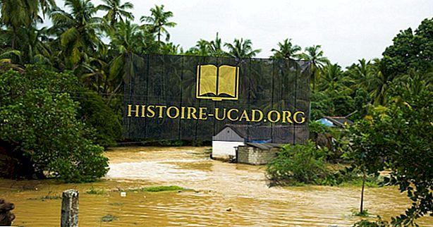 środowisko - Kraje najbardziej narażone na klęski żywiołowe