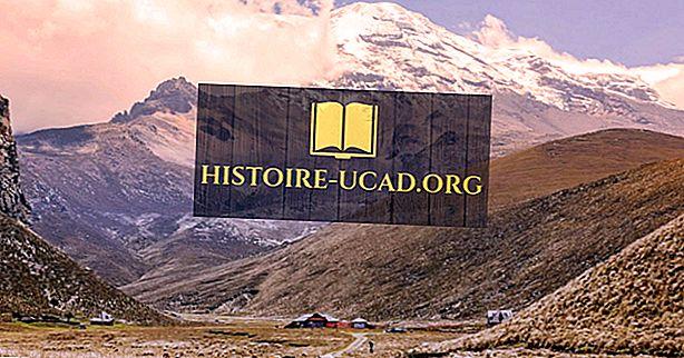 Plus hautes montagnes en Equateur