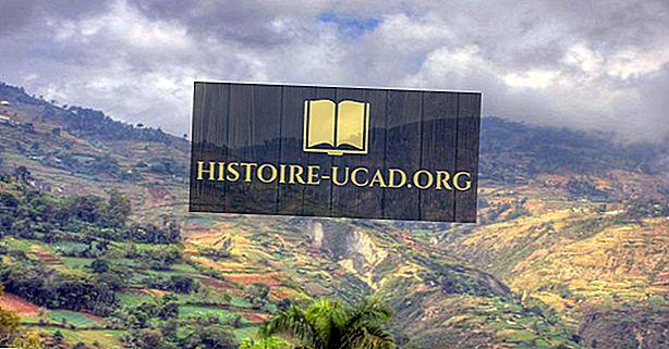 أطول جبال في هايتي