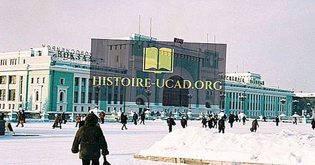 러시아에서 가장 추운 도시들