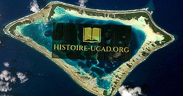 Kyst- og Oceaniske Landformer: Hva er en Atoll?