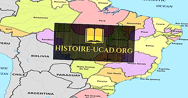 Štáty Brazílie Podľa Oblasti