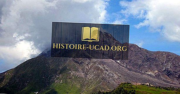 Utbruddet av Soufrière Hills vulkanen i Montserrat i 1995