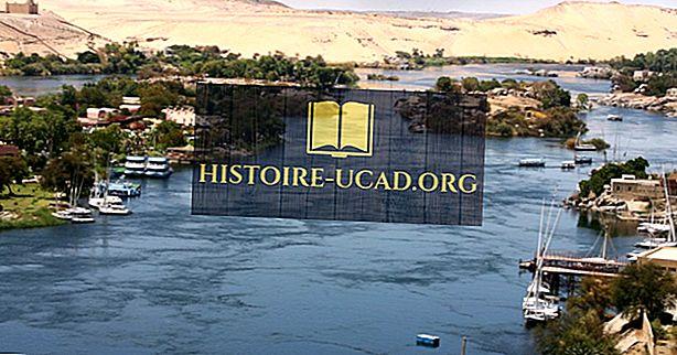 Nguồn của sông Nile là gì?
