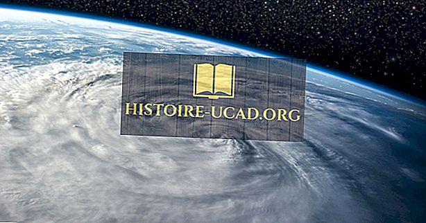 Qual é a diferença entre um furacão e um tufão?