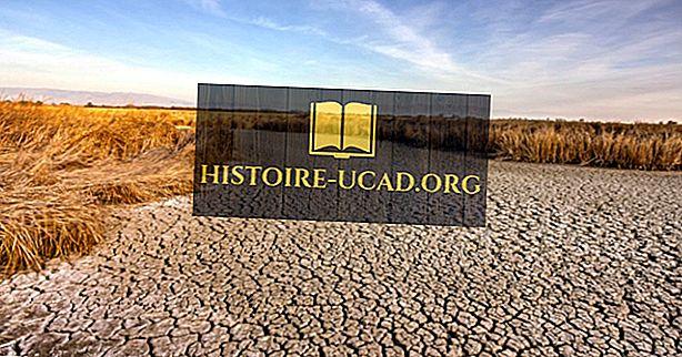 Hva forårsaket California tørken?
