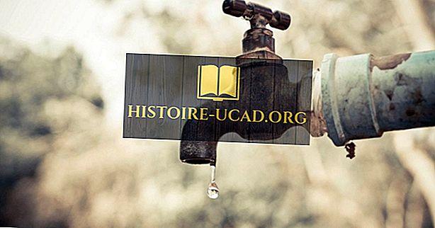 ما هي ندرة المياه؟