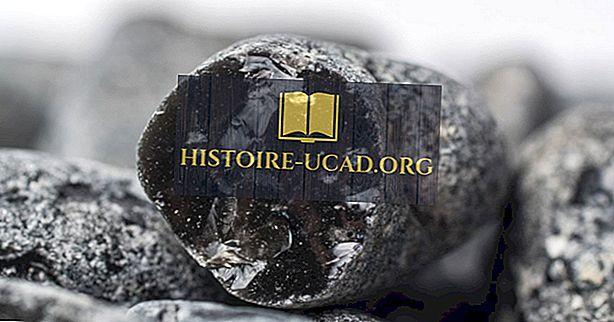 Fakta obsidiánů: Geologie světa
